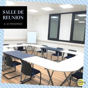 Salle de réunion 10 personnes à Besançon